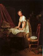 Louis Leopold  Boilly Young Woman Ironing oil painting artist